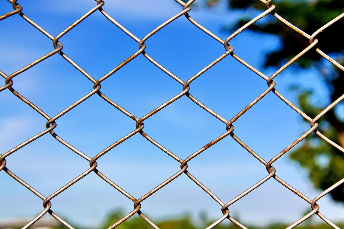 chain link in the park